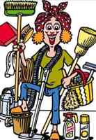 House work, cleaning and odd jobs