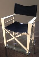 Director's style chair - REDUCED again
