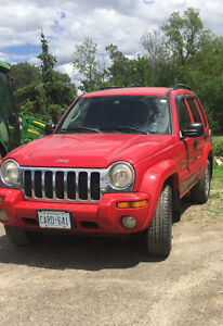 2003 Jeep Liberty- as is deal