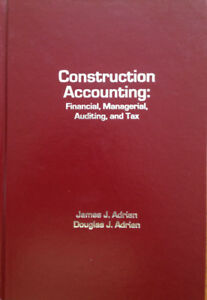 Construction Accounting:Financial, Managerial, Auditing, and Tax