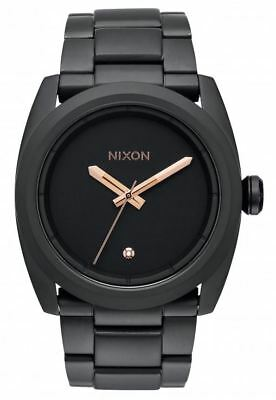 Nixon Men's A507957 Kingpin All Black IP Stainless Steel Watch A507-957-00