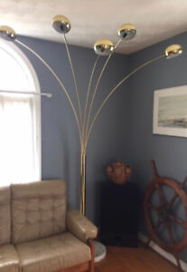 Large Tree Floor Lamp with Marble Base  and a Matching partner