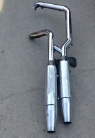 Stock Exhaust pipes