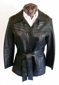Veste en Cuir Vintage - APACHE - Vintage Women's Leather Jacket