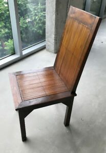 Wooden dining/occasional chairs