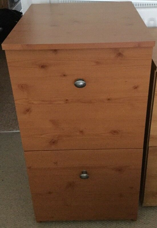 A4 Two Drawer Filing Cabinet