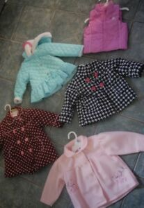 Baby girl coats $15.00 for the whole lot!