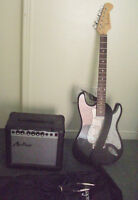 for sale/trade academy electric guitar & amp
