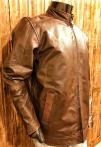 Men's Vintage 100% Genuine Leather Slim Fit Handmade Jacket