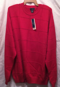 NEW Dockers mens 3XL pull over / sweater