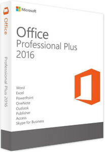 Microsoft Office Professional Plus 2016 (Full) Windows 7, 8, 10