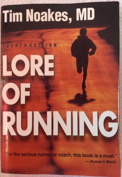 The lore of running dr tim noakes book signed by dr noakes the lore of running dr tim noakes book signed by dr noakes fandeluxe Images