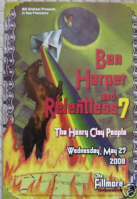BEN HARPER Henry Clay People F1015 FILLMORE POSTER