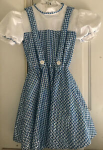 Dorothy Costume - Wizard of Oz Child's, Rubies, Large with Toto