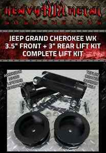 "05-10 Jeep Grand Cherokee WK 3.5""+ 3"" Full Lift Leveling Kit 4WD"