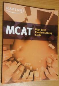 Kaplan MCAT High-Yield Problem Solving Guide