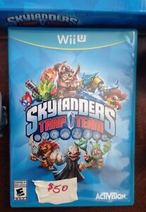 Wii U Skylander Trapteam system and wxtras London Ontario image 2