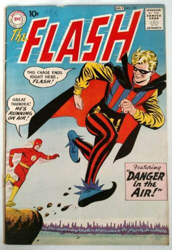 The Flash #113 1st App of the Trickster DC Comics 1960 Vol 1 Key Issue