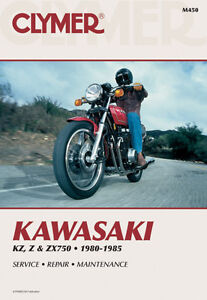Clymer Shop Manuals For Kawasaki Motorcycles