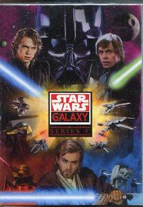 2008 STAR WARS GALAXY 4 120 CARDS SET W/WRAPPER