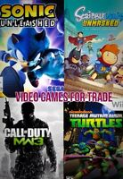 4 wii/wii U titles for trade