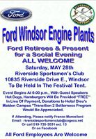 Windsor Ford Plants retirees and employees reunion