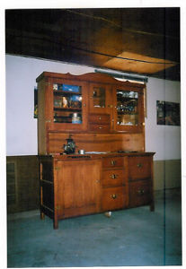 HAND CRAFTED BUFFET AND HUTCH