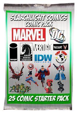 HUGE COMIC BOOK LOT 25 MARVEL DC INDY SPIDER-MAN BATMAN X-MEN NO DUPLICATES