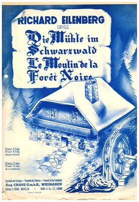 Die Mühle im Schwarzwald für Akkordeon