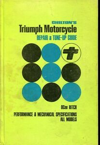 Triumph 1945-1963 motorcycle tune up & repair manual