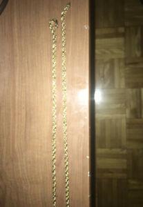 10k Gold Rope chain $300.00