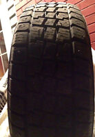 4 215/65/16 studded winter tires.