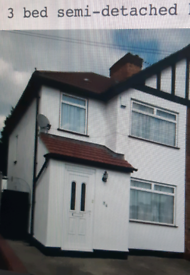3 semi-detached house-Harrow Weald