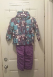 Girls Two Piece Snow Suit