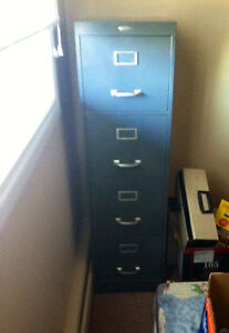 A great condition Cole-Steel Filing Cabinet for sale