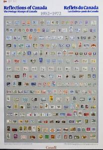 Canada postage stamps posters 1851-1980