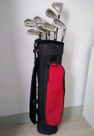 Mitsushiba Junior Tour 9-12 Years Irons & Driver Set with Golf Bag
