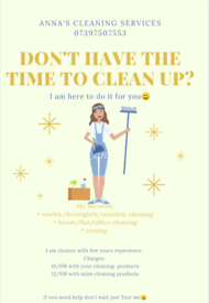 Cleaning * Ironing