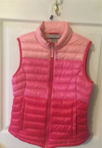 Down Vest, girls youth size 10-12