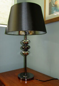 Chrome Finish Table Lamp