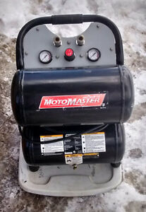 Motomaster Twin-Stack Air Compressor