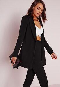 Longline Blazer Black