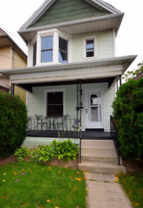 3 bedrooms, 2 full bath house with LARGE garage.