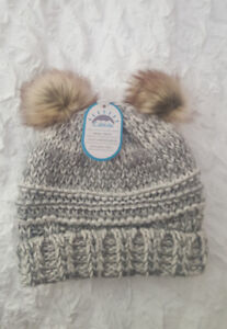 Cali Kids New with tags Toddler girls Winter hat12M to 3y