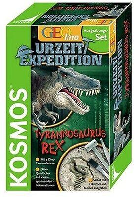Kosmos Geolino 630119 Urzeit Expedition TYRANNOSAURUS  Ausgrabungsset  Neu !