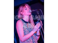 Female Singer for Weddings, Parties, Events