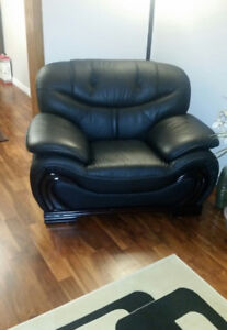 Leather ,Sofa, Loveseat and Chair,living room set,furniture