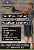 Functional Fitness & Nutritional Coaching in the GTA
