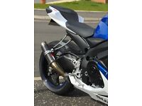 Gsxr 600/750 Scorpion exhaust carbon titanium