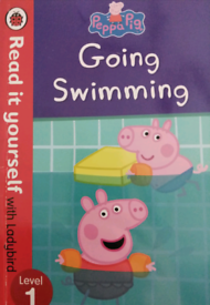 Peppa pig going swimming level 1 book